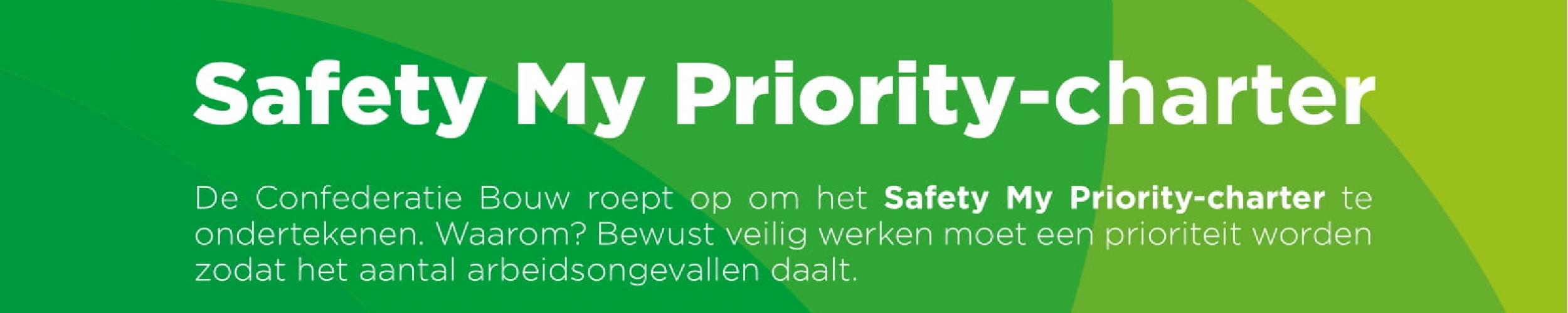 IBS ondertekent het Safety My Priority-charter