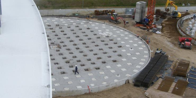 Project: Oiltanking tankfunderingen (Antwerpen)